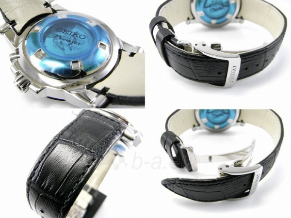 Vīriešu pulkstenis Seiko Premier Kinetic SRN039P2 Paveikslėlis 3 iš 4 30069606245