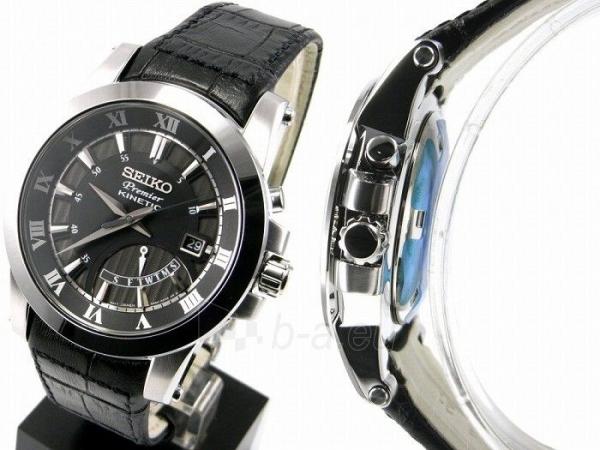 Vīriešu pulkstenis Seiko Premier Kinetic SRN039P2 Paveikslėlis 4 iš 4 30069606245