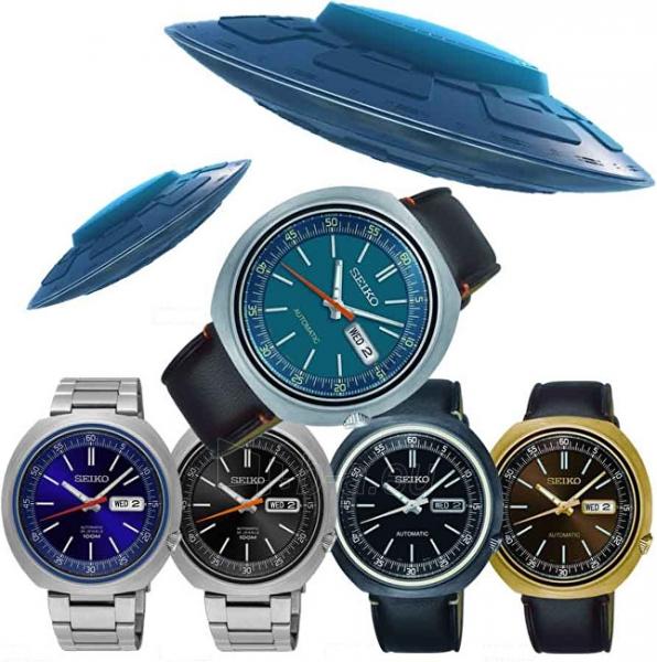 Vyriškas laikrodis Seiko Recraft UFO SRPC15K1 Limited Edition Paveikslėlis 2 iš 7 310820142729