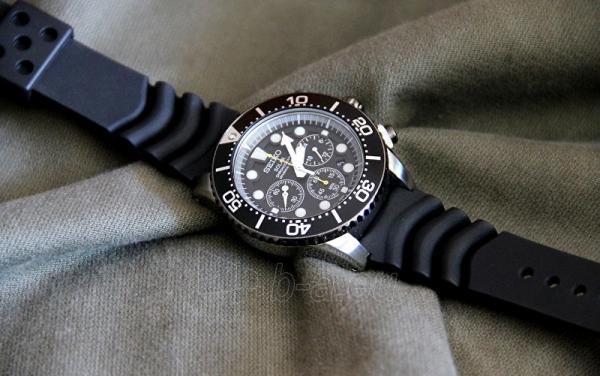 Vyriškas laikrodis Seiko Solar SSC021P1 Paveikslėlis 3 iš 4 310820110909