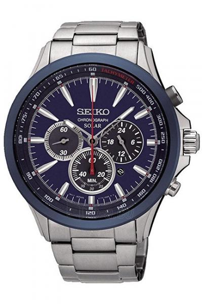 Vyriškas laikrodis Seiko Solar SSC495P1 Paveikslėlis 1 iš 5 310820125743