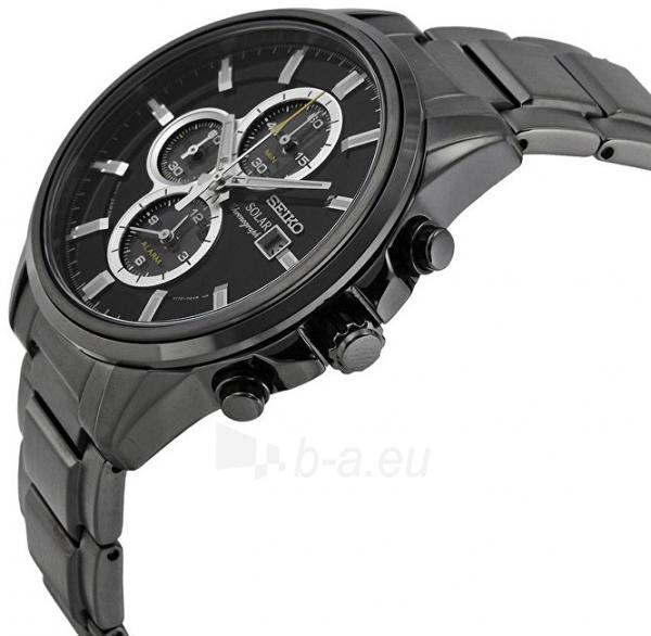 Vyriškas laikrodis Seiko Solar SSC495P1 Paveikslėlis 4 iš 5 310820125743