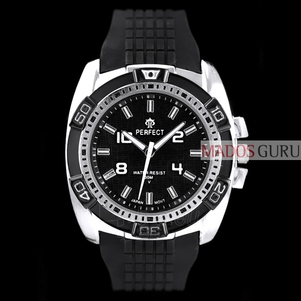 Sporta stils Perfect pulkstenis PFSD01S Paveikslėlis 1 iš 4 30069600752