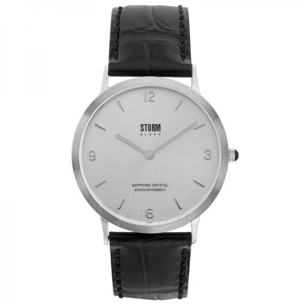 Vyriškas laikrodis Storm Black Sigma Silver Paveikslėlis 1 iš 1 30069609315