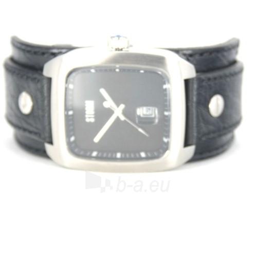 Male laikrodis STORM PIRELLO BLACK BLACK LEATHER Paveikslėlis 7 iš 7 30069609364
