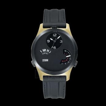 Male laikrodis Storm Tri Time Gold/Black Paveikslėlis 1 iš 1 30069609385