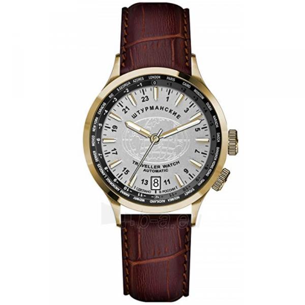 Vyriškas laikrodis STURMANSKIE Traveller Automatic 2231/2256287 Paveikslėlis 1 iš 7 310820159659