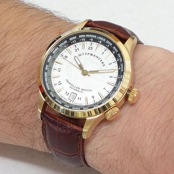 Vyriškas laikrodis STURMANSKIE Traveller Automatic 2231/2256287 Paveikslėlis 5 iš 7 310820159659
