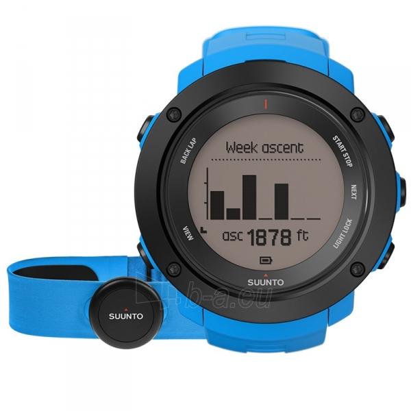 Vyriškas laikrodis SUUNTO AMBIT3 VERTICAL BLUE (HR) Paveikslėlis 1 iš 1 310820010648