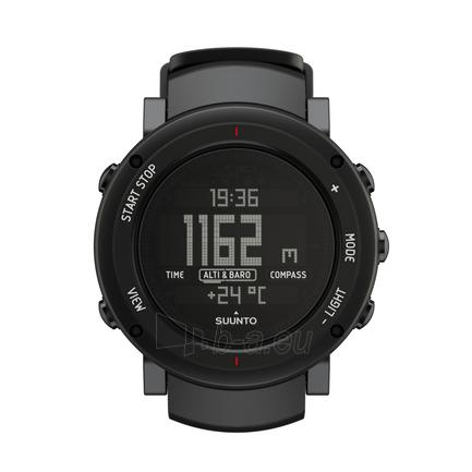 Male laikrodis SUUNTO CORE Alu Deep Black Paveikslėlis 1 iš 2 310820010624