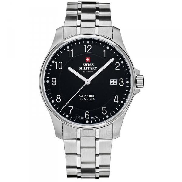 Male laikrodis Swiss Military by Chrono SM30137.01 Paveikslėlis 1 iš 1 30069609457