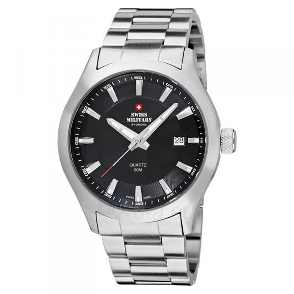Male laikrodis Swiss Military by Chrono SM34024.01 Paveikslėlis 1 iš 1 30069609484