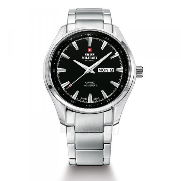 Vyriškas laikrodis Swiss Military by Chrono SM34027.01 Paveikslėlis 1 iš 1 30069609488