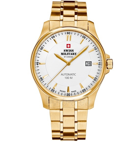 Vyriškas laikrodis Swiss Military by Chrono SMA34025.04 Paveikslėlis 1 iš 1 310820105920