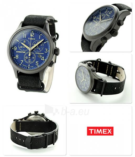 Male laikrodis Timex Expedition Scout Chrono TW4B04200 Paveikslėlis 2 iš 3 310820110649