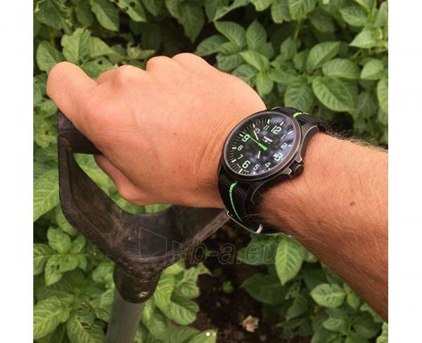 Paveikslėlis 3 iš 6 Male laikrodis Traser P67 Officer Pro Gunmetal Black Lime  Paveikslėlis 4 iš 6 310820130763 5df3f449db9