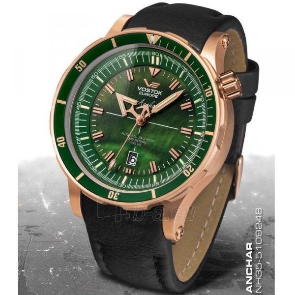 Male laikrodis Vostok Europe Anchar NH35A-5109248 Paveikslėlis 1 iš 10 310820010499