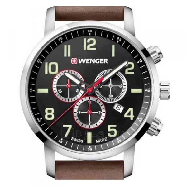 Vyriškas laikrodis WENGER ATTITUDE CHRONO 01.1543.103 Paveikslėlis 2 iš 3 310820105650