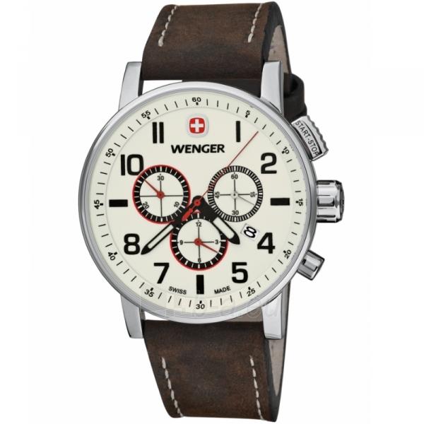 Male laikrodis WENGER COMMANDO CHRONO 01.1243.105 Paveikslėlis 1 iš 8 30069609706