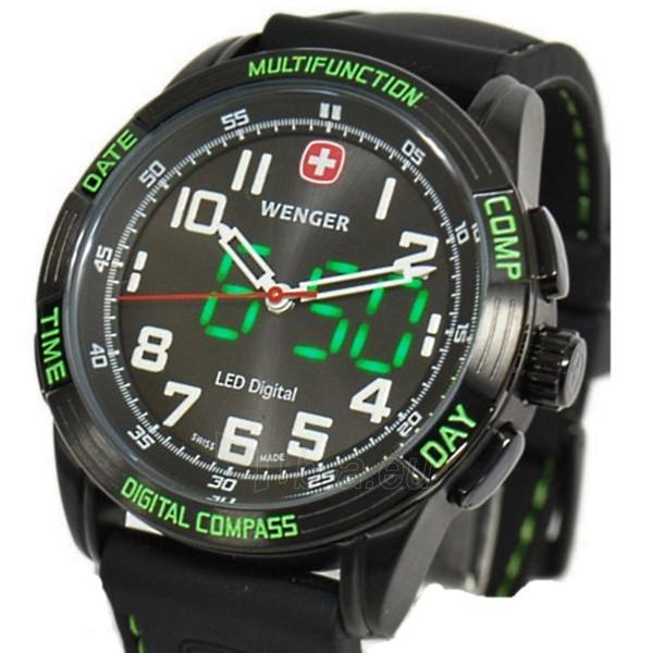 Vyriškas laikrodis WENGER LED NOMAD 70433 Paveikslėlis 5 iš 6 310820010535