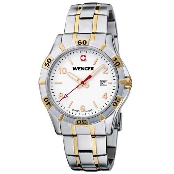 Vyriškas laikrodis WENGER PLATOON GENT 01.0941.105 Paveikslėlis 1 iš 9 310820010343