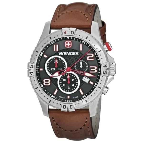 Vyriškas laikrodis WENGER SQUADRON CHRONO 77051 Paveikslėlis 1 iš 5 310820010523