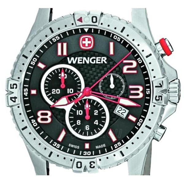 Vyriškas laikrodis WENGER SQUADRON CHRONO 77051 Paveikslėlis 2 iš 5 310820010523