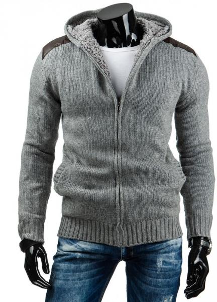 Vyriškas megztinis Baldwin (Pilkas) Paveikslėlis 1 iš 6 310820031418