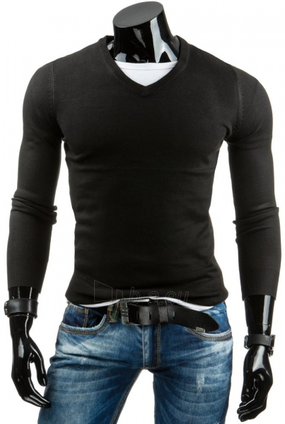 Vyriškas megztinis Bari (Juodas) Paveikslėlis 1 iš 6 310820031523