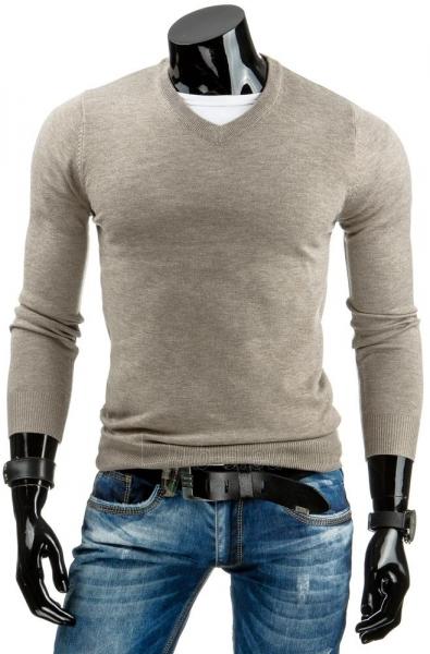 Vyriškas megztinis Bari (Rudas) Paveikslėlis 1 iš 6 310820031524