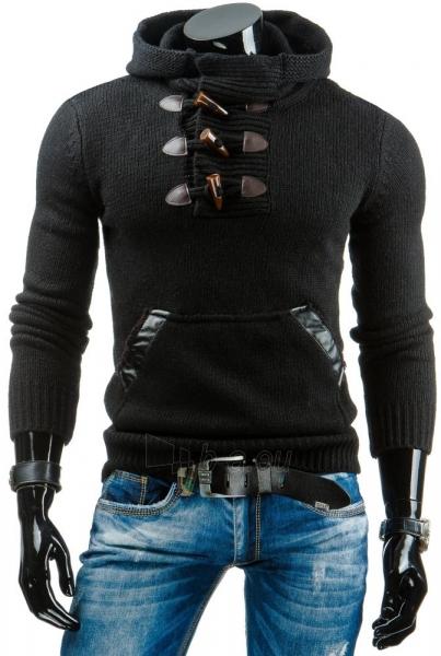Vyriškas megztinis Barney (Juodas) Paveikslėlis 1 iš 6 310820043618