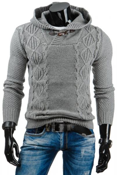 Vyriškas megztinis Barrett (Pilkas) Paveikslėlis 1 iš 6 310820031415