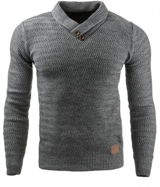 Vyriškas megztinis Benson (Antracitas) Paveikslėlis 1 iš 7 310820031574