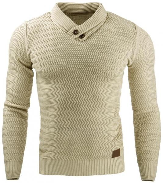 Vyriškas megztinis Benson (Rudas) Paveikslėlis 1 iš 7 310820031570