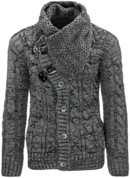 Vyriškas megztinis Buckeye (Antracitas) Paveikslėlis 1 iš 7 310820031568
