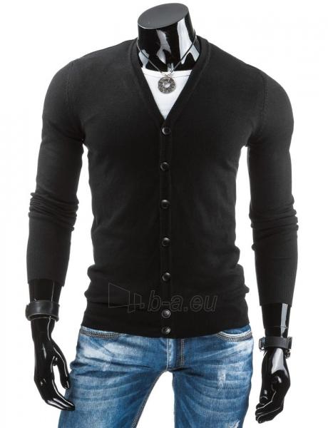 Vyriškas megztinis Carlton (Juodas) Paveikslėlis 1 iš 6 310820031762