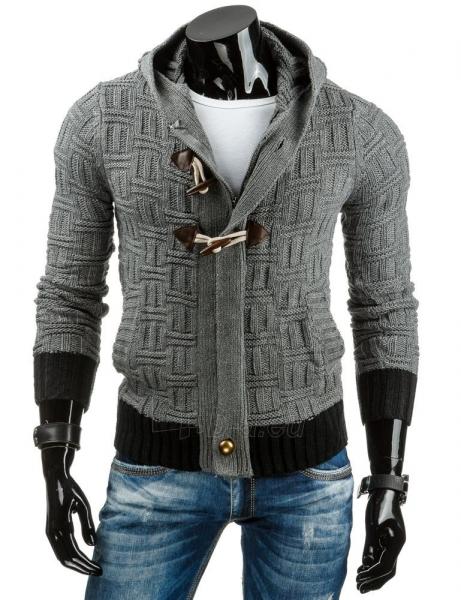 Vyriškas megztinis Carrollton (Antracitas) Paveikslėlis 1 iš 7 310820031731