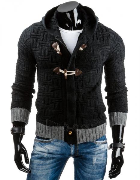 Vyriškas megztinis Carrollton (Juodas) Paveikslėlis 1 iš 6 310820031732
