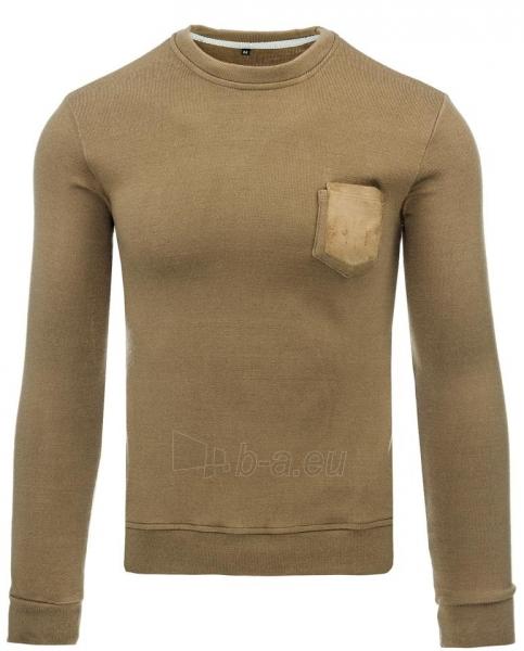 Vyriškas megztinis Evander (Rudas) Paveikslėlis 1 iš 8 310820043551