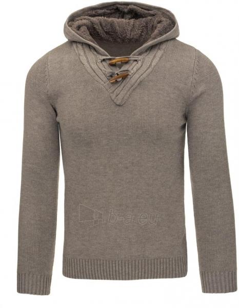 Vyriškas megztinis Ewart (Rudas) Paveikslėlis 1 iš 7 310820031288