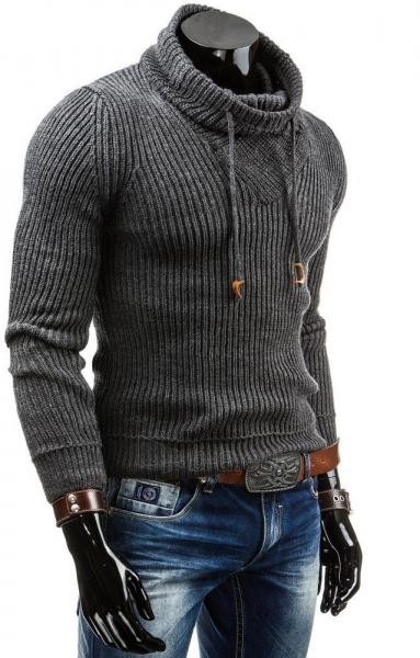 Vyriškas megztinis Fenton (Grafitinis) Paveikslėlis 1 iš 6 310820031292