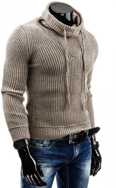 Vyriškas megztinis Fenton (Rudas) Paveikslėlis 1 iš 6 310820031291