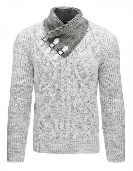 Vyriškas megztinis Fletcher (Baltas) Paveikslėlis 1 iš 7 310820031299