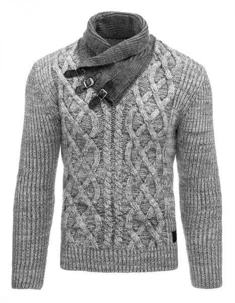 Vyriškas megztinis Fletcher (Pilkas) Paveikslėlis 1 iš 7 310820031300