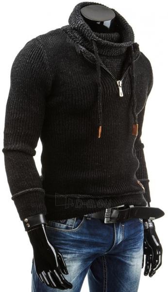Vyriškas megztinis Franklyn (Juodas) Paveikslėlis 1 iš 6 310820043570