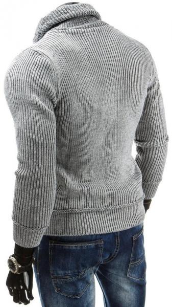 Vyriškas megztinis Franklyn (Pilkas) Paveikslėlis 1 iš 5 310820043569
