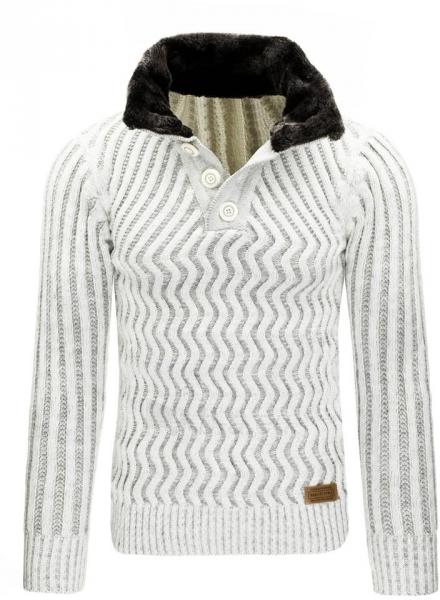 Vyriškas megztinis Fred (Baltas) Paveikslėlis 1 iš 7 310820031305