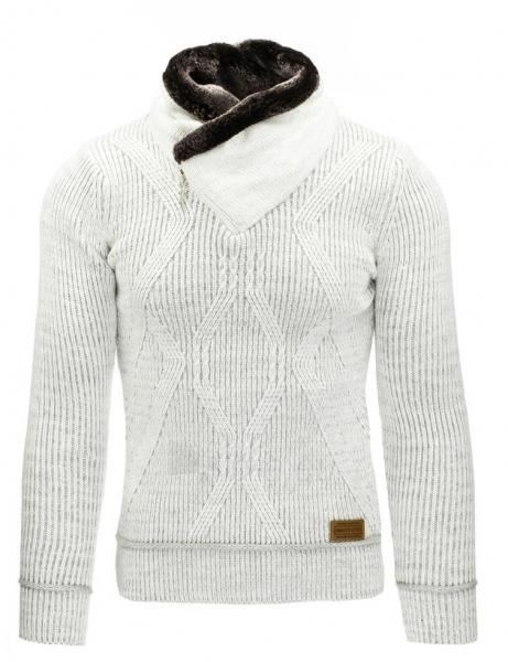 Vyriškas megztinis Fulton (Baltas) Paveikslėlis 1 iš 7 310820031307