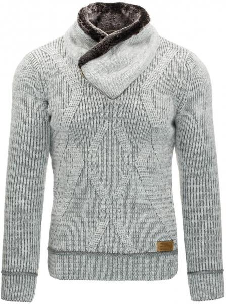 Vyriškas megztinis Fulton (Pilkas) Paveikslėlis 1 iš 7 310820031306
