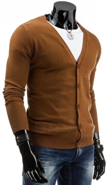 Vyriškas megztinis Gabe (Rudas) Paveikslėlis 1 iš 6 310820043678
